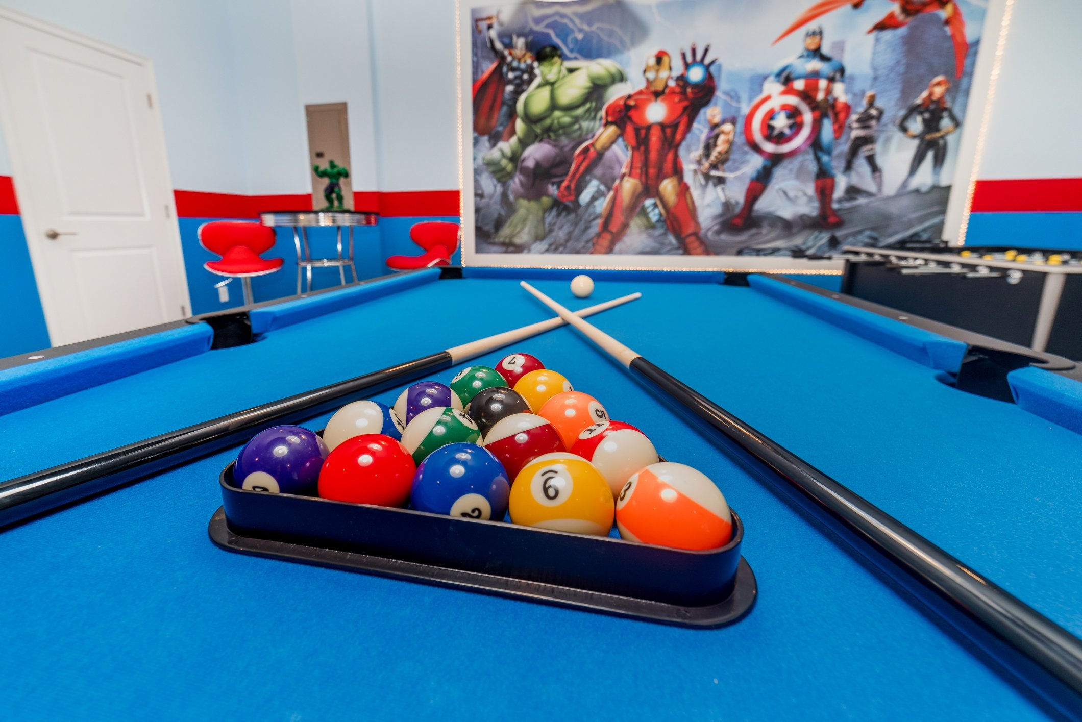 gamerooms game room for vacation rental homes florida orl;ando fl