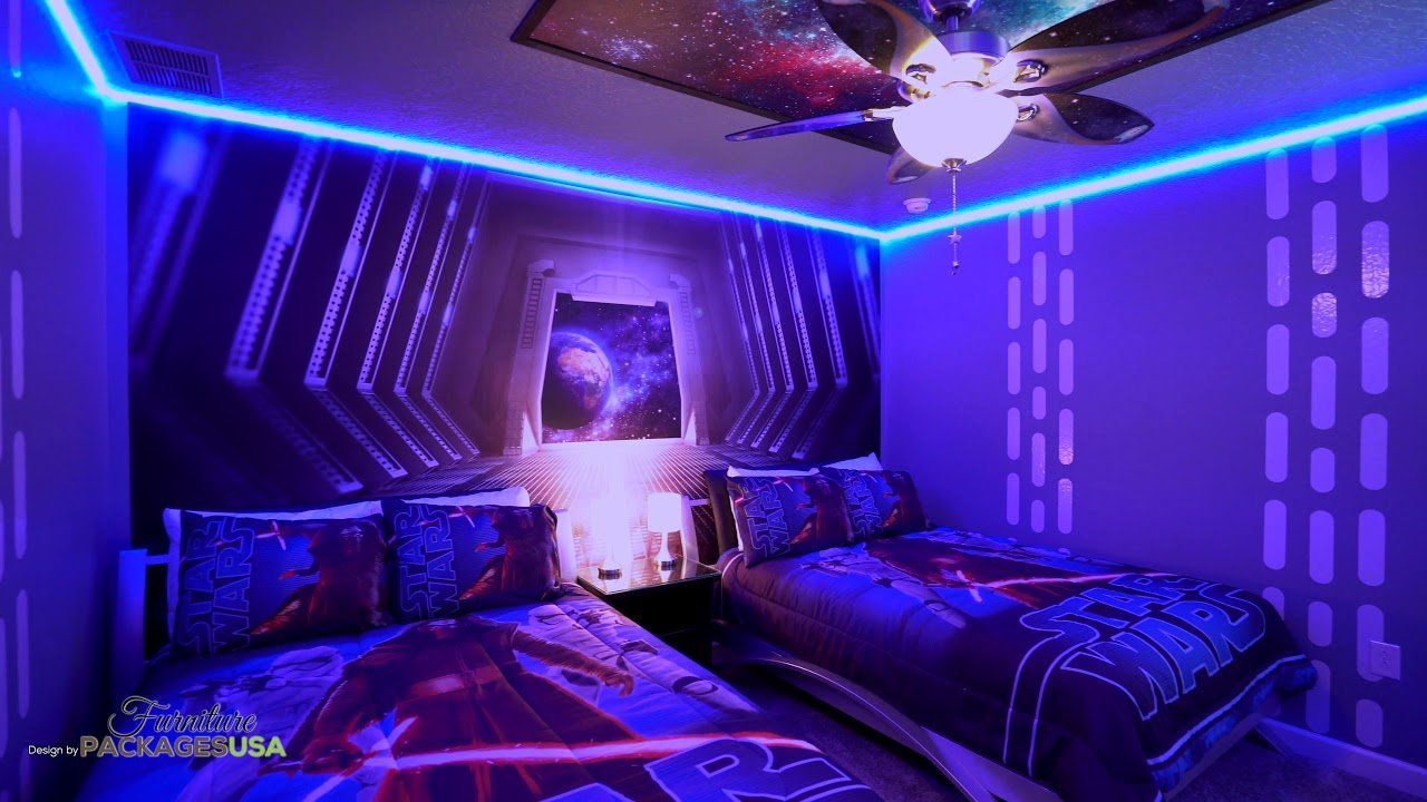 best star wars theme room for vacation home