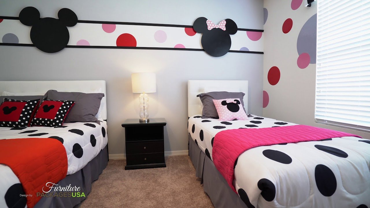 disney themed room for kissimmee vacation home