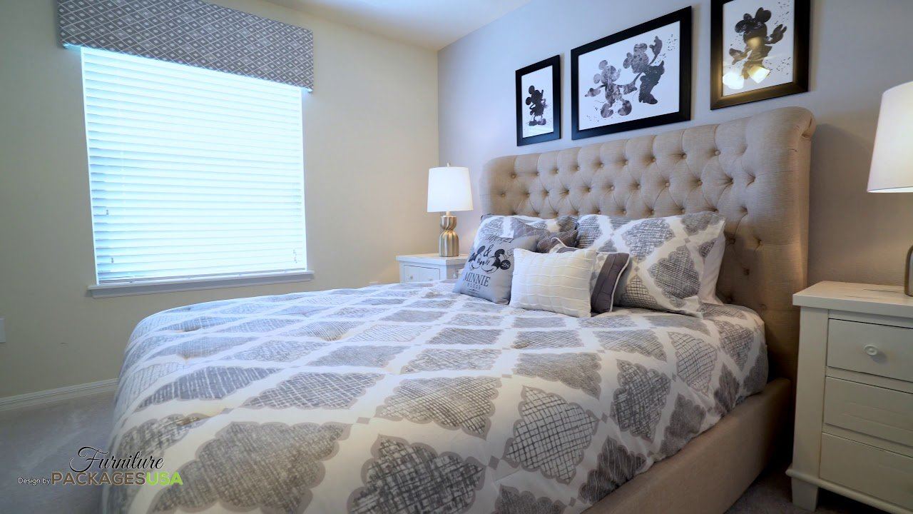 classic disney design for vacation rental furniture company