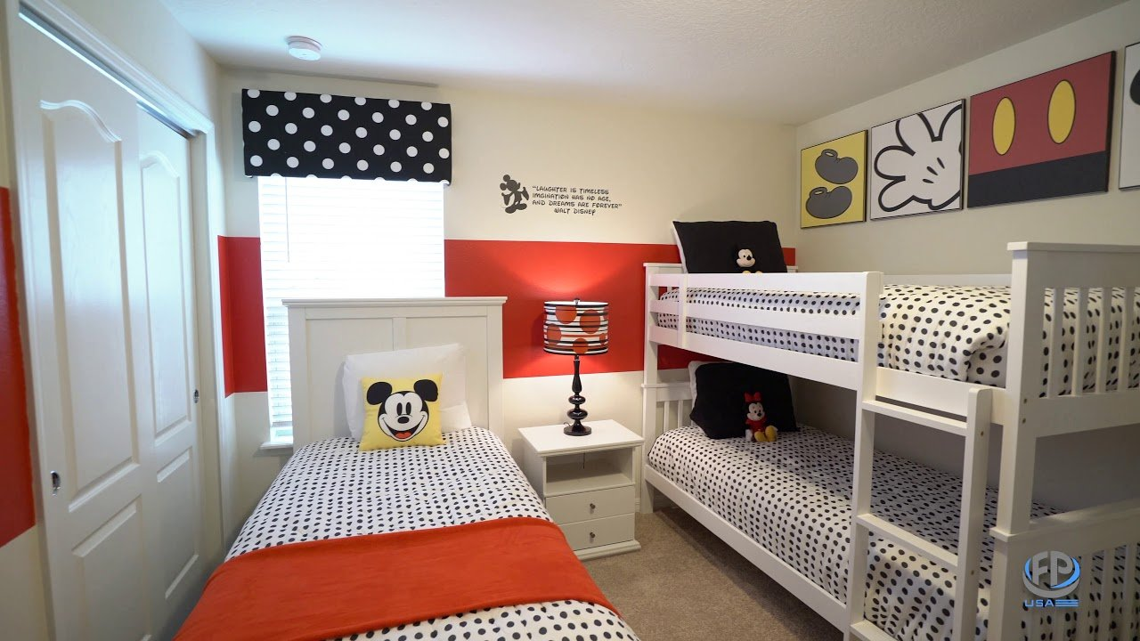 mickey mouse bedroom furniture design