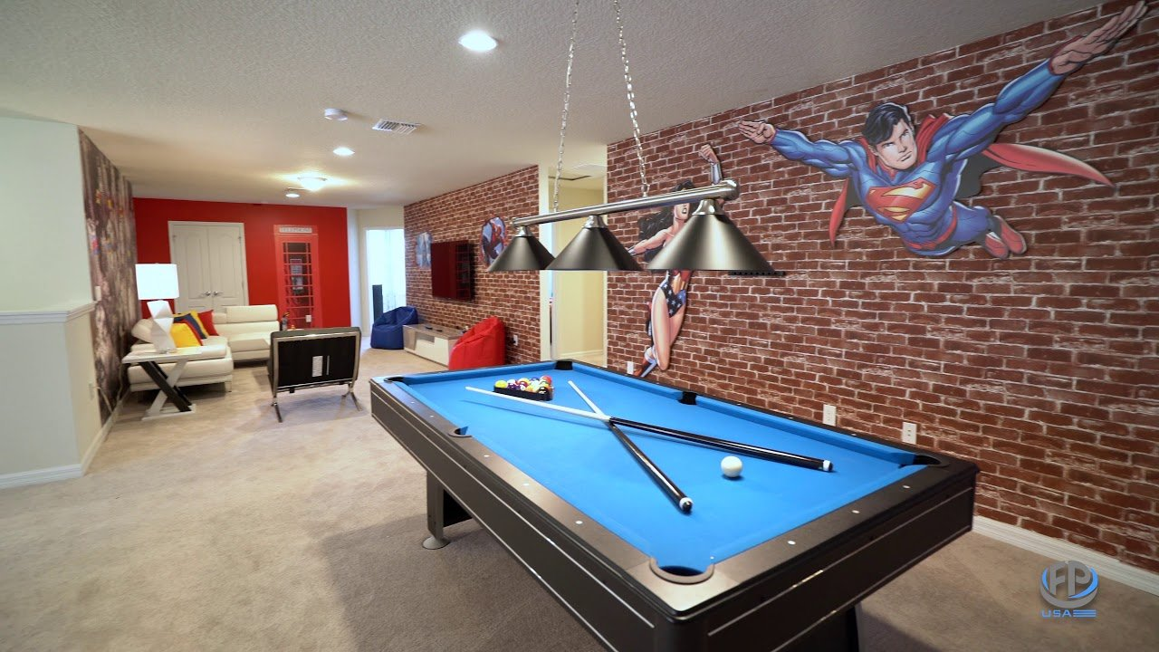 gameroom furniture packages for vacation rentals