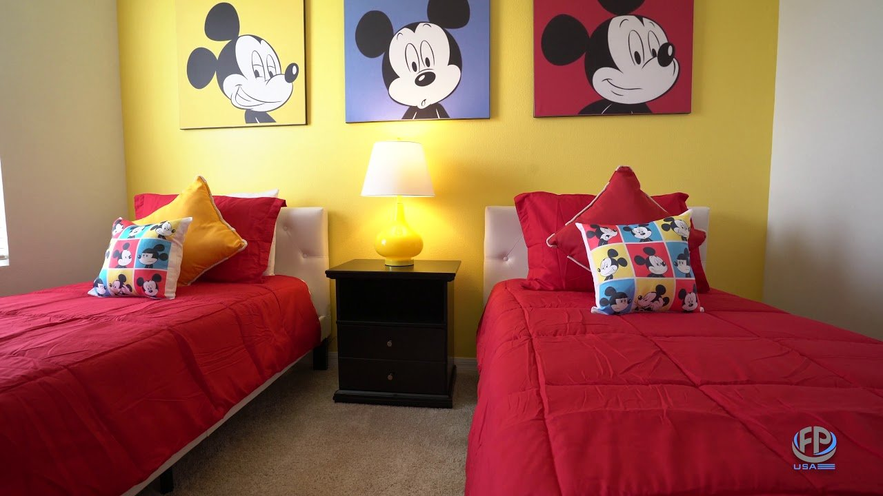 disney room designed for vacation rentals furniture packages usa